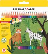 EFA Farbstift hexagonal 24er