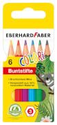 Farbstift kurz 6er Etui