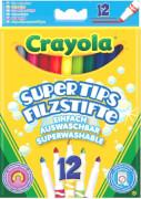Goliath 256596 Crayola 12 Supertips einf.ausw. Filzst.