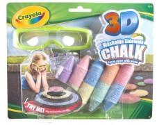 Crayola 3D Straßenkreide