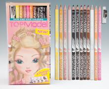 Depesche 6304 TOPModel Buntstifteset, Haut-  und Haartöne