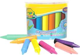 AMIGO 00784 Crayola Mini Kids Wachsmalstifte Jumbo 24 Stück