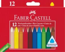 Faber-Castell 12 Wachsmalkreiden