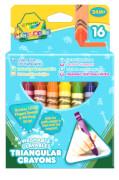 AMIGO 20163 Crayola dreieckige Wachsmalstifte, 16 Stück