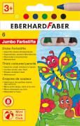Faber-Castell Buntstift Mini Kids Club 6er-Etui