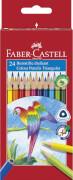 Faber-Castell Buntstift dreikant 24er Kartonetui