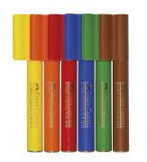 Faber-Castell Filzstift Connector Jumbo Pen 6er-Kartonetui