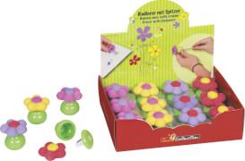 Spitzer mit Radierer Blume