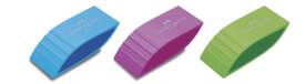 Faber-Castell Radierer Bicolor, farbig sortiert