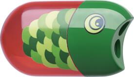 Faber-Castell Doppelspitzdose Fisch inkl. Radierer