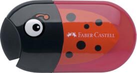 Faber-Castell Doppelspitzdose Käfer inkl. Radierer