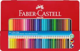 Faber-Castell Buntstift Colour Grip 36er Metalletui