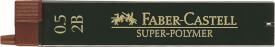 Faber-Castell Feinmine Super Polymer, 2B, 0,5mm