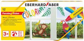 Eberhard Faber Wachsmalkreide für Fenster 12er Etui