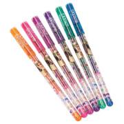Depesche 5459 Horses Dreams Gelstifte Set Glitter - 6 Farben