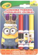 Crayola Minions 3 Mini Filzstifte