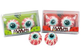 Radierer Monster-Augen, 2er Set