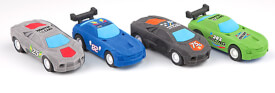 Depesche 6022 Monster Cars Radiergummi - Racing Car