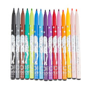 Depesche 8497 TOPModel Fasermaler 15 Farben