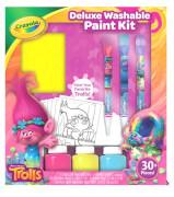 AMIGO 15650 Crayola Trolls Deluxe Malset mit auswaschbaren Farben