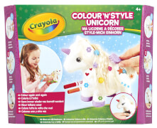 Goliath 256414 Crayola Kreativ-Sets Style-mich Einhorn