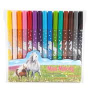 Depesche 6363 Miss Melody Fasermaler 15 Farben