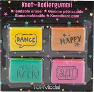 Depesche 6675 TOPModel Knet-Radiergummi Set