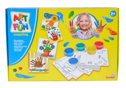 Art & Fun Malen mit Fingermalfarben