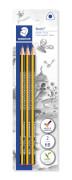 Bleistift Noris HB x3 BK  100