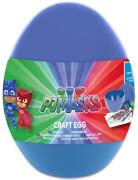 PJ Mask Mal-Ei gefüllt