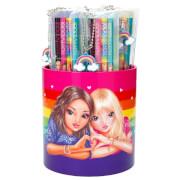 Depesche 6402 TOPModel Bleistift 4er Set, Rainbow