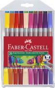 Faber-Castell Doppelfasermaler 20er-Kunststoffetui
