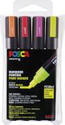 Marker UNI POSCA PC-5M 4er Set Neon