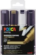 Marker UNI POSCA PC-8K 4er Set