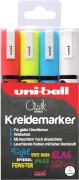 Marker UNI CHALK MARKER PWE-5M 4x