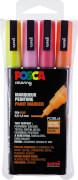 Marker UNI POSCA PC-3M 4er Set Glitter
