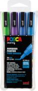 Marker UNI POSCA PC-3M 4er Set Glitter 2