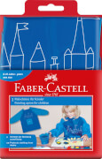 Malschürze für Kinder Farbe Blau