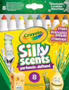 AMIGO 18267 Crayola Silly Scents 8 Stinkende Filzstifte