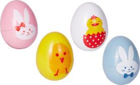 Ei-Stempel Fröhliche Ostern, sortiert
