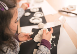 Faber-Castell EFA Plast Kids 1kg weiß Faber-Castell