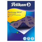 Durchschreibpapier 200H DINA4/10 Blatt blau,Plenticopy