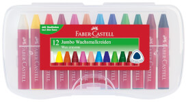 Faber-Castell Wachsmalkreide JUMBO 12er