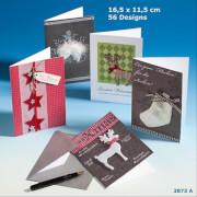 Depesche 3873 Designers Best Weihnachtsklappkarten
