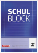BRUNNEN 1052527  Schulblock