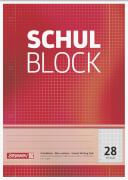 Glocken 5052528  Schulblock, bedruckt
