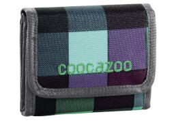 Coocazoo CashDash Geldbörse Green Purple District