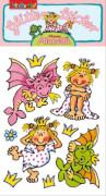 Glitter-Sticker Prinzessin Miabella 2, ab 3 Jahren.