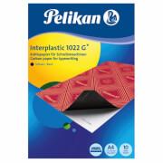 Kohlepapier Interplastic 1022G DINA4/10Blatt schwarz