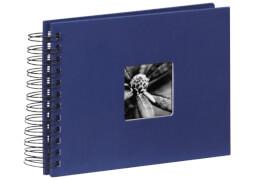 HAMA 90152 Fotospiralbuch Fine Art, blau